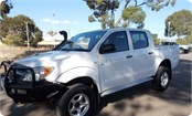 FOUR WHEEL DRIVE DUAL CAB UTE HIRE